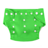 Oem OEM Cyber Baby Cloth Nappies Reusable Adjustable Eco-friendly Nappy Diaper (Green)