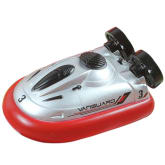 Oem OEM Fang Mini Micro RC Hovercraft Raido Remote Control Hover Boat Toy (Red)