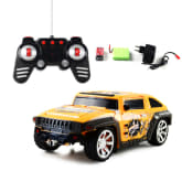 Oem Hot Ready to go Electronic Remote Control Car Robot Transformation Drifting Transformer RC Cars Kids Toys child toy (Yellow) - Intl