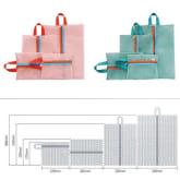 Oem 4 Pieces Travel Luggage Mesh Organizer Bag (Green) (Intl)