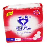 Unbranded SHUTA S-4062 Sanitary Napkin With Wings 8+2'S (Red)