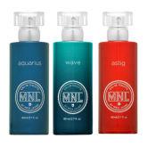 Mnl Eau De Toilette MNL Fragrance Aquarius, Wave and Astig 80ml Bundle of 3