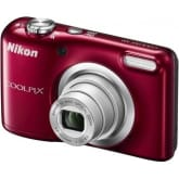 Nikon COOLPIX A10 16.1MP 5x Optical Zoom (Red) with FREE 8GB SD Card and Camera Case