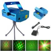 Vakind Mini Stage light DJ Disco KTV Light with 4 Pattern us plug(Intl)