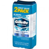 Gillette Clear Gel Cool Wave Anti-Perspirant Deodorant Pack of 2