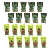 Candyland Candy Land Gummy Sour Apple Belt 50g Set of 10 and Candy Land Sunflower Seed 50g Set of 10 with Free 5 Piece Candy Land Gummy Sour Bear 50g