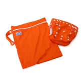 Generic Baby Diaper Accessory (Orange) 2-piece Set