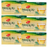 Dongsuh Korean DONGSUH Brown Rice Green Tea (1.5gx25) tea bags (6box) 37.5g set of 6