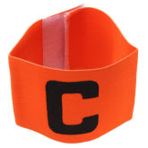 Oem C Prints Football Soccer Captain Armband Orange - Intl
