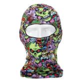 Oem 3D Cycling Bicycle Motorcycle Skull Cap Balaclava Headgear Hats Full Face Mask (Intl)