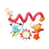 Oem OEM Fang Multifunctional Baby Kids Car Pram Hanging Bell Bed Crib Ring Plush Toy Gift (Colorful)