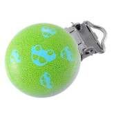 Oem OEM Baby Pacifier Clips Car Pattern Green