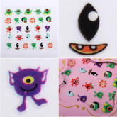 Oem 3D Nail Art Stickers Decal Fashion Design Manicure Tips DIY Decoration Lovely Style 10 (Intl)