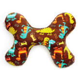 Spinkie Dino Dudes Butterfly Pillow (Brown)