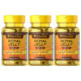 Puritan's Pride Royal Jelly 500mg 60 softgels Set of 3 Bottles