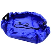 Oem Fang Fang Portable Mini Round Storage Bag For Children Lot of Toys Organizer (Blue) (Intl)