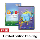 Ap Media Philippines AP Media Philippines YouthMAX: Be Free and Enjoy Life! with U-Kids Usapang Pamilya Kids Edition: Volume 1 DVD with Free Eco Bag
