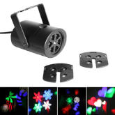 Gobo Stage light with changeable Multi-pattern cards, led, RGBW,EU Plug