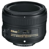Nikon AF-S NIKKOR 50mm f/1.8G (Black)