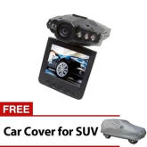 Unbranded Car CCTV Camera Road Recorder with IR Sensor and FREE Car Cover for SUV