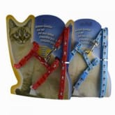 Zichen cat harness for cats adjustable - Blue