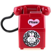 Oem Retro Telephone Piggy Bank Piggy (Red)