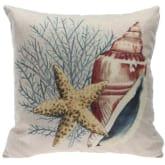 Oem Marine Life Pattern Bedding Square Cushion Pillowcase