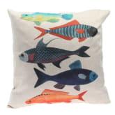 Oem Cartoon Fish Pattern Bedding SquarePillowcase 45×45cm