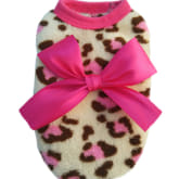 Jetting Buy Adorable Dog Hoodie Leopard Soft Pink - Intl