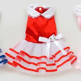 Oem Cyber Color Ding Pengpeng Pet Dog Skirt G - 061(Red)