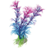 Oem Artificial Plastic Grass Fish Tank Ornament Water Plant Aquarium Decor Purple