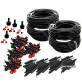 Oem 92m Micro Drip Irrigation Automatic Watering System For Plant Garden Greenhouse (Intl)