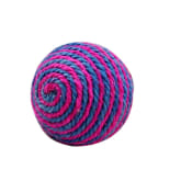 Oem OEM Fang Round Ball Toys Double Color Sisal Toys for Cats Chew Play (Multicolor)
