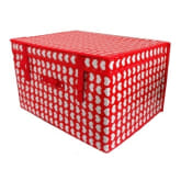 Unbranded Khome Storage Box - Hearty Hearty (Red)