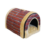 Jetting Buy Soft Pet Warm Dog Bed Pet House Red