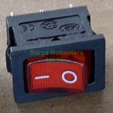 Saklar Switch 3 Pin Kecil ( On - Off ) - Ada Lampu Indikator