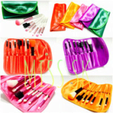 [ Isi 7 Kuas ] Mini Make Up Brush 7 In 1 Colour By Make Up For You