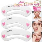 cetakan alis / cetak alis / mini brow class