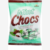 Fairprice Mint Chocs Peppermint Candies With Chocolate Cream Filling