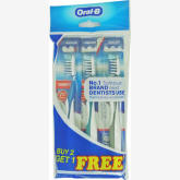 Fairprice Cross Action Pro-Health 40M 7 Benefits Toothbrush