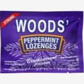 Cold-storage Woods Peppermint Lozenges, Blackcurrant