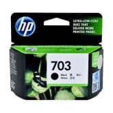 HP 703 Tinta Printer - Hitam