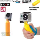 Short Handle Float Bobber - Floating Handle for GoPro Xiaomi Yi SJcam