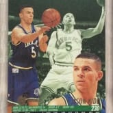 Kartu NBA Fleer Ultra 94-95 #230 Jason Kidd Dallas Mavericks