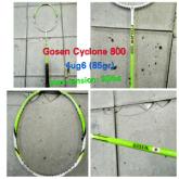 Raket Badminton Gosen Cyclone 800 ! 100%original Gosen Japan !