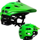 BELL HELMETSUPER BRIGHT GREEN L 13 US 2041278