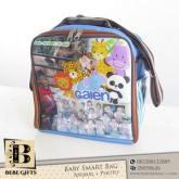 Custom Souvenir Baby Smart Bag Animal Photo Biru