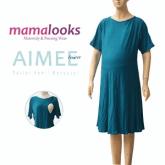 Mamalooks AIMEE Tosca Dress Hamil Menyusui