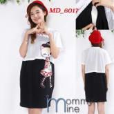 Dress hamil / meyusui (MD_6017)
