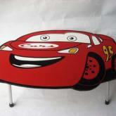 meja lipat lucu cars